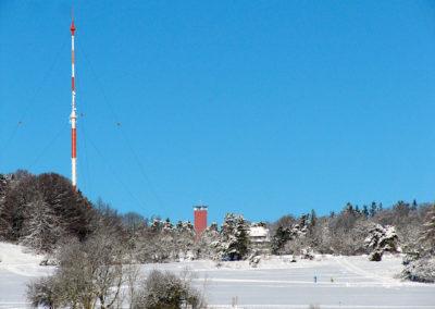 Winterlandschaft Raichberg Albstadt